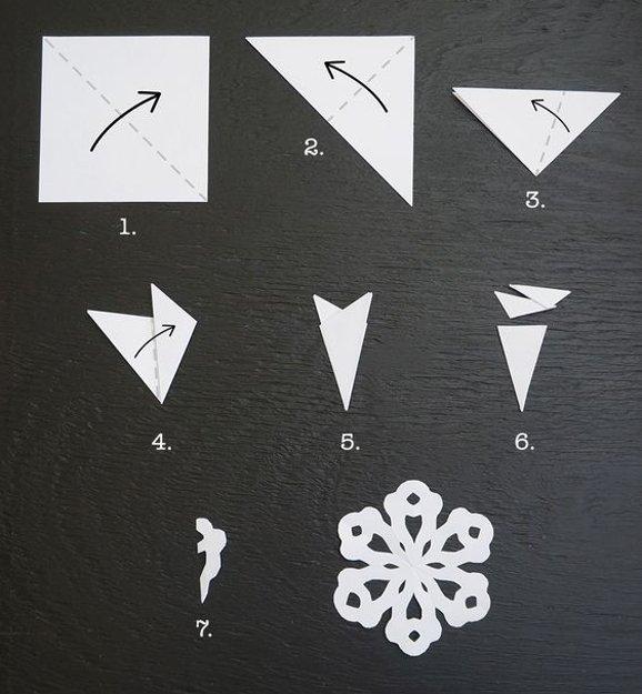 Crafts Snowman Holding Snowflake