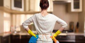 Co a jaká místa je nutné v domácnosti uklízet téměř každý den?
